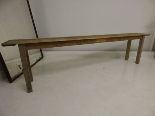 Large French Dining  Table - 3m long - v96